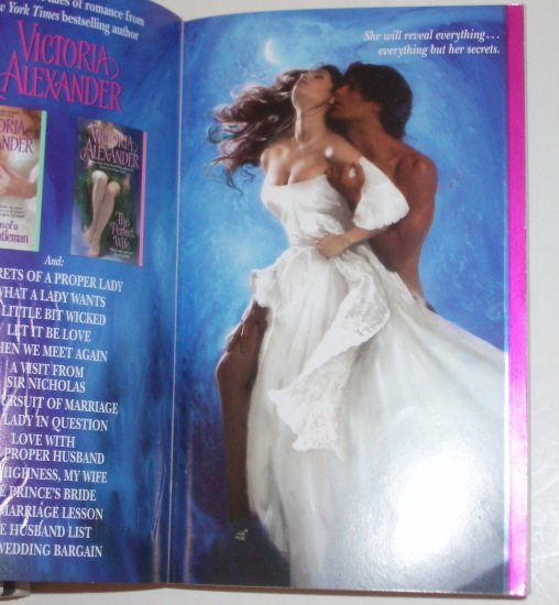 The Virgin's Secret by VICTORIA ALEXANDER Historical Victorian Romance 2009 Harrington Family Series