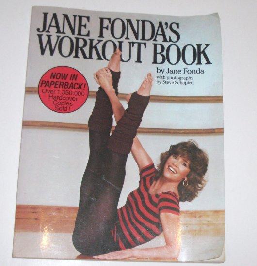 Jane Fonda's Workout Book by JANE FONDA 1981