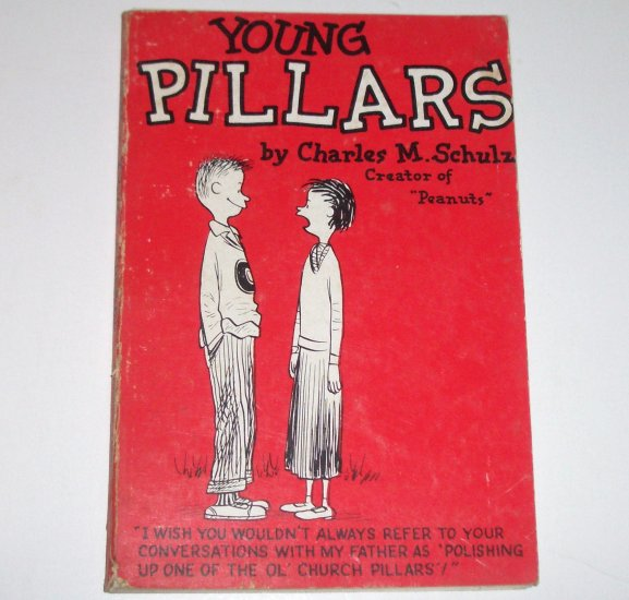 Young Pillars by CHARLES M SCHULZ 1958