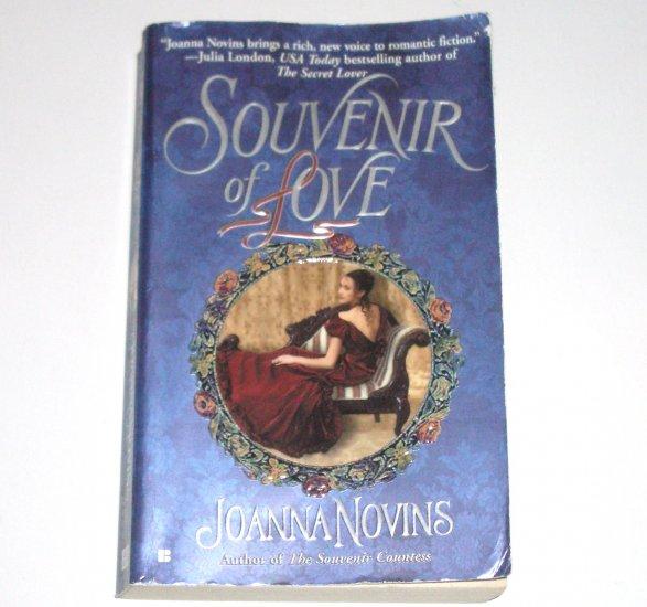 Souvenir of Love by JOANNA NOVINS Historical Georgian French Revolution Romance 2004