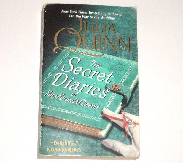The Secret Diaries of Miss Miranda Cheever JULIA QUINN Regency Romance 2007 Bevelstoke Series