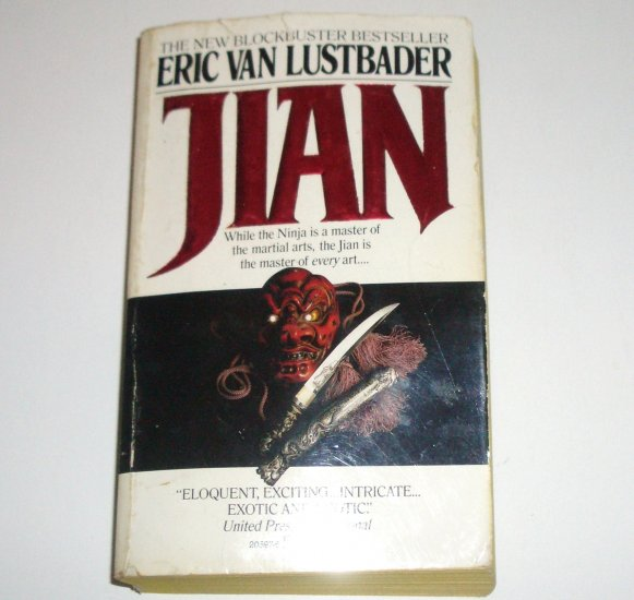 Jian by ERIC VAN LUSTBADER Thriller 1986 China Maroc Series