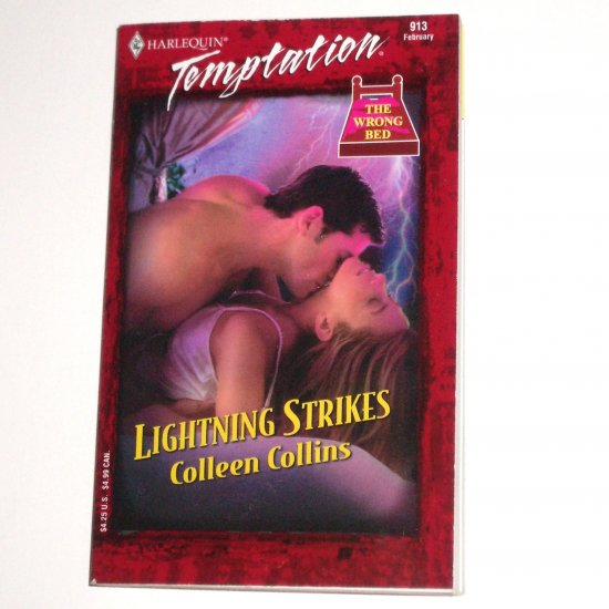 Lightning Strikes by COLLEEN COLLINS Harlequin Temptation 913 Feb03 The Wrong Bed Series