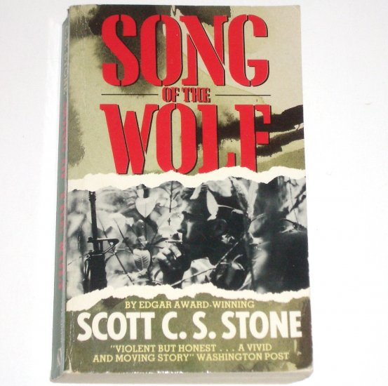 Song of the Wolf by SCOTT C S STONE War Fiction 1989 Import