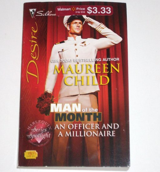 An Officer and a Millionaire by MAUREEN CHILD Silhouette Desire 1915 Jan09 Man of the Month