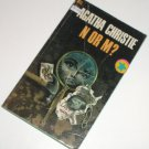 N or M? by AGATHA CHRISTIE Mystery 1969 Dell
