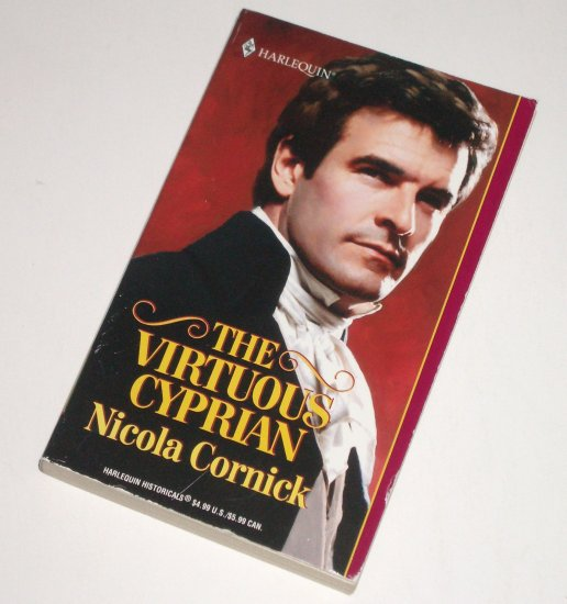 The Virtuous Cyprian by NICOLA CORNICK Harlequin Historical Regency Romance No 566 2001