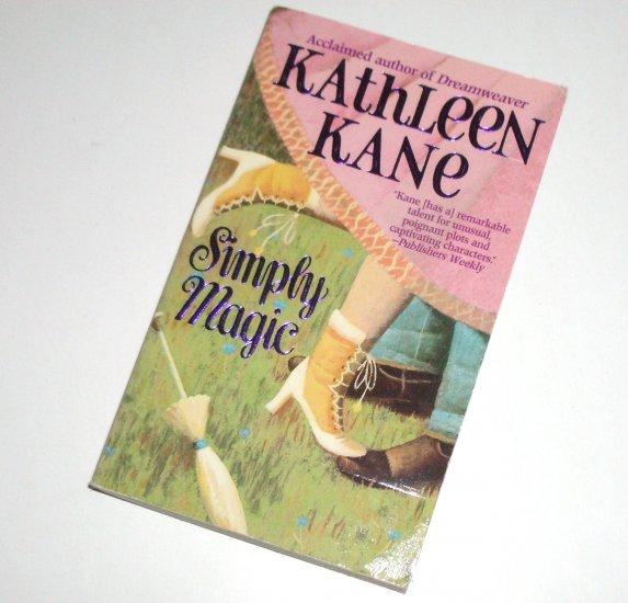 Simply Magic by KATHLEEN KANE Historical Western Magic Fantasy Romance 1999