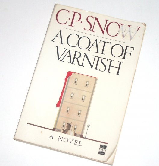 A Coat of Varnish by C P SNOW Trade Size Mystery 1981 Edgar Nominee
