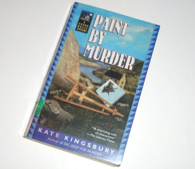 Paint by Murder by KATE KINGSBURY A Manor House Cozy Mystery 2003 Prime Crime