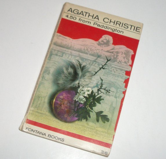 4.50 From Paddington by AGATHA CHRISTIE Vintage Murder Mystery Fontana Books 1967