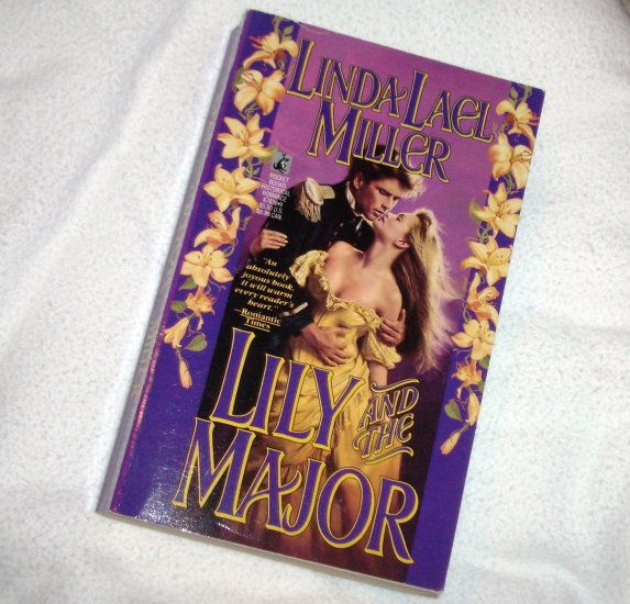 Lily and the Major by LINDA LAEL MILLER Historical Western Romance 1990 Orphan Train Trilogy