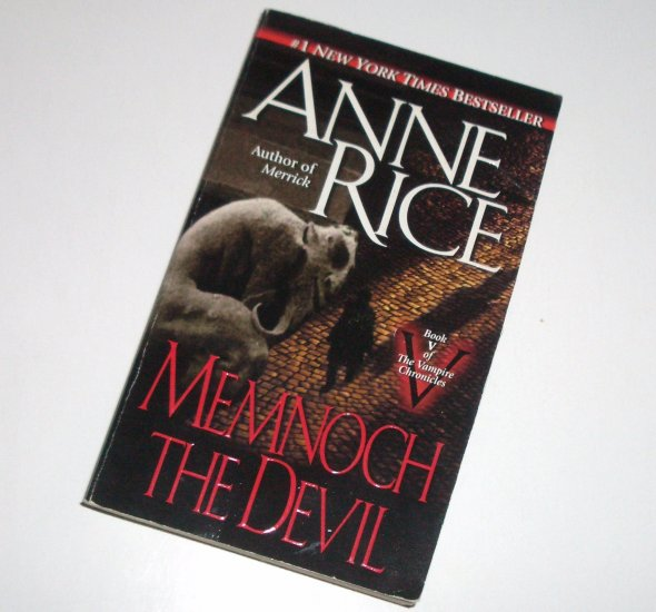 Memnoch The Devil by ANNE RICE Horror 1997 Vampire Chronicles Series