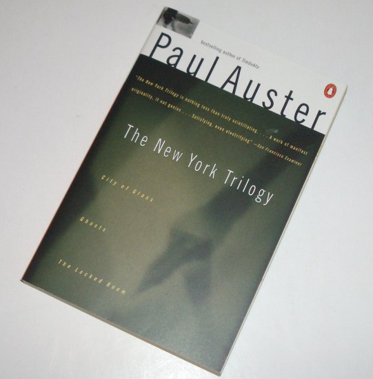 The New York Trilogy by PAUL AUSTER City of Glass; Ghosts; The Locked Room Trade Size 1990