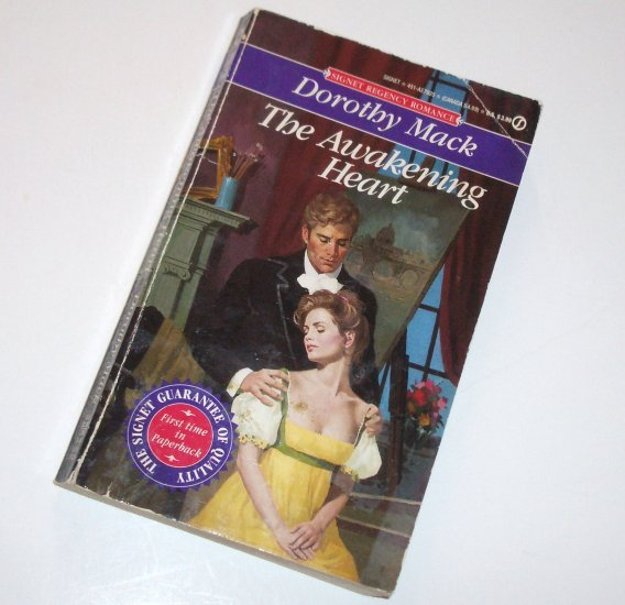 The Awakening Heart by DOROTHY MACK Signet Historical Regency Romance 1993