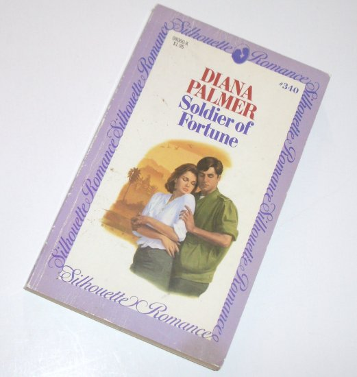 Soldier of Fortune by DIANA PALMER Vintage Silhouette Romance #340 1985