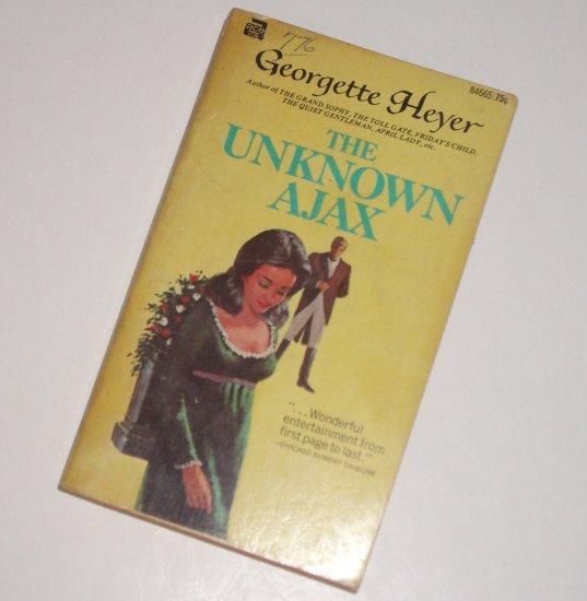 The Unknown Ajax by GEORGETTE HEYER Historical Regency Romance 1959