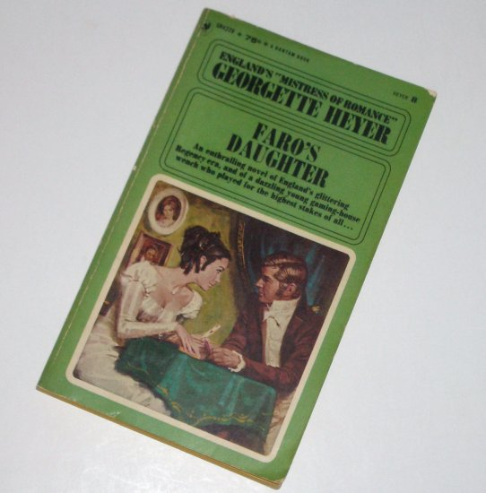 Faro's Daughter by GEORGETTE HEYER Historical Regency Romance 1968
