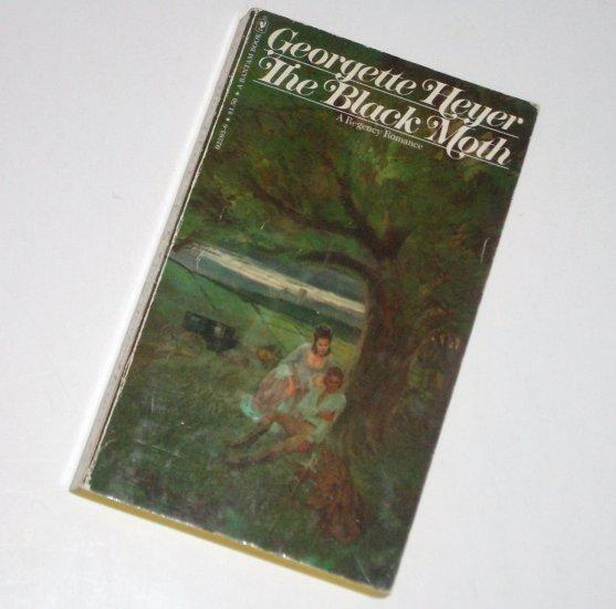 The Black Moth by GEORGETTE HEYER Historical Regency Romance 1976