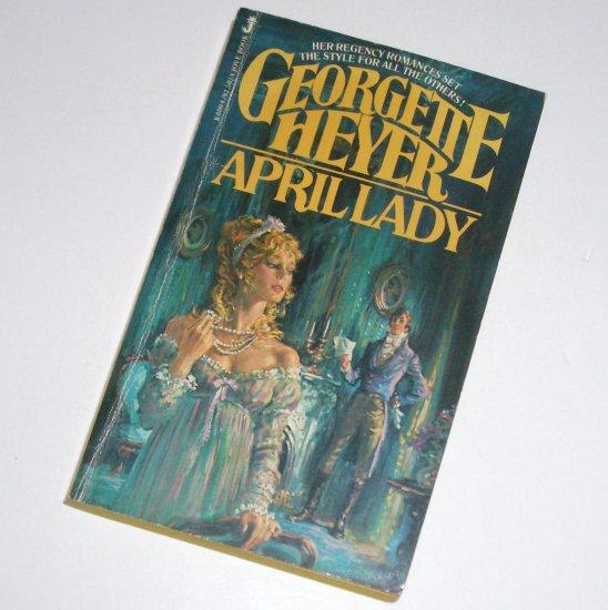 April Lady by GEORGETTE HEYER Historical Regency Romance 1981