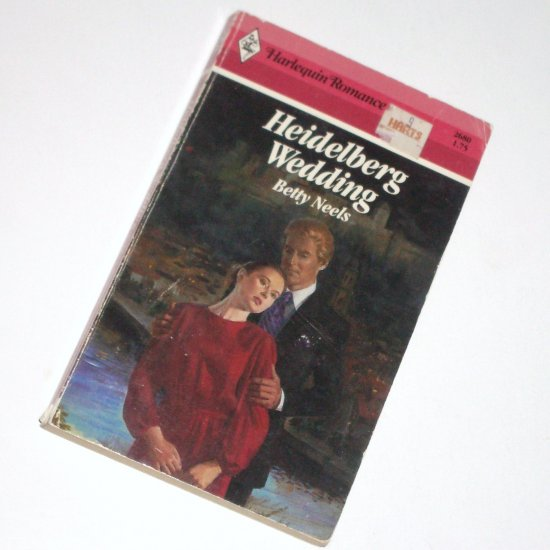 Heidelberg Wedding by Betty Neels Vintage Harlequin Romance 1985 No. 2680