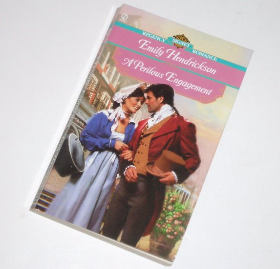 A Perilous Engagement by EMILY HENDRICKSON Signet Historical Regency Romance 2000