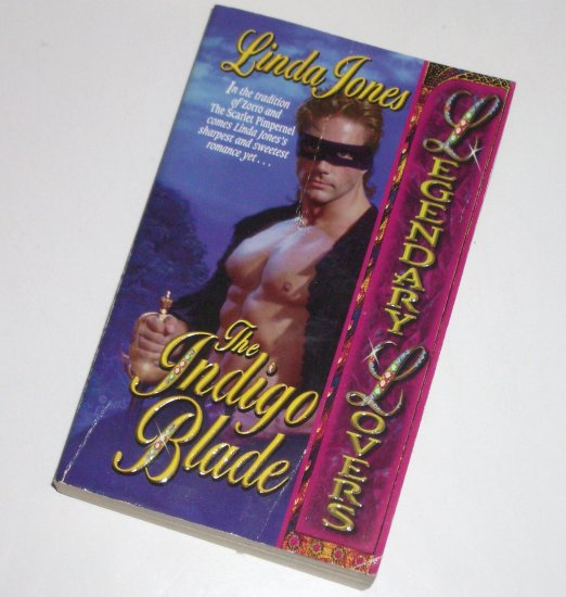 The Indigo Blade LINDA JONES Lovespell Historical American Revolution Romance 1999 Legendary Lovers