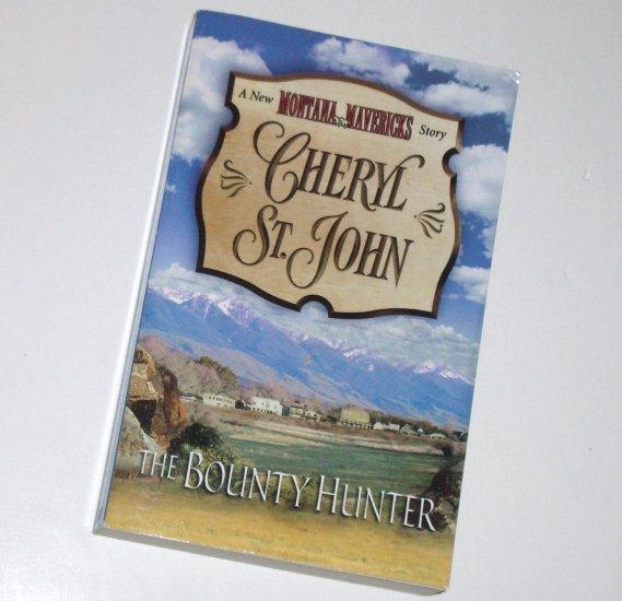 The Bounty Hunter by CHERYL ST. JOHN Western Romance 2001 New Montana Mavericks Series