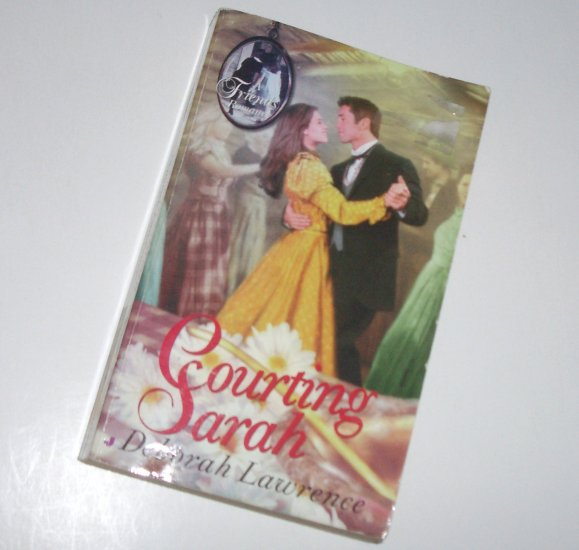 Courting Sarah by DEBORAH LAWRENCE Historical Western Romance 1999 Friends Series