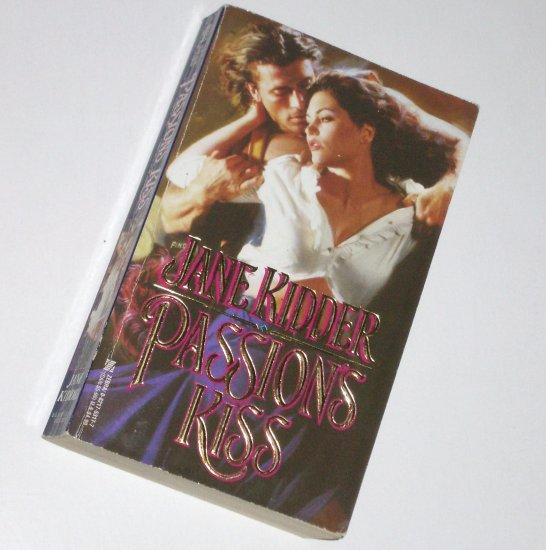 Passion's Kiss JANE KIDDER Zebra Lovegram Historical Romance 1996 Wellesley Brothers Series