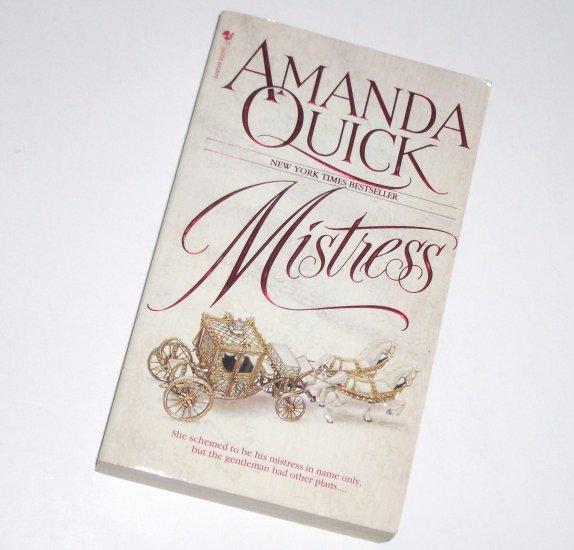 Mistress by AMANDA QUICK Historical Regency Romance Paperback 1995