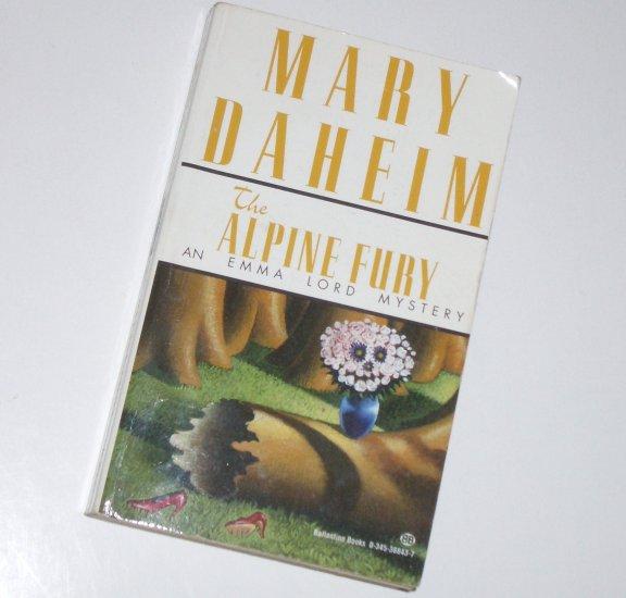 The Alpine Fury by Mary Daheim An Emma Lord Mystery 1995