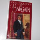 The Bargain by JANE ASHFORD Historical Regency Romance 1997
