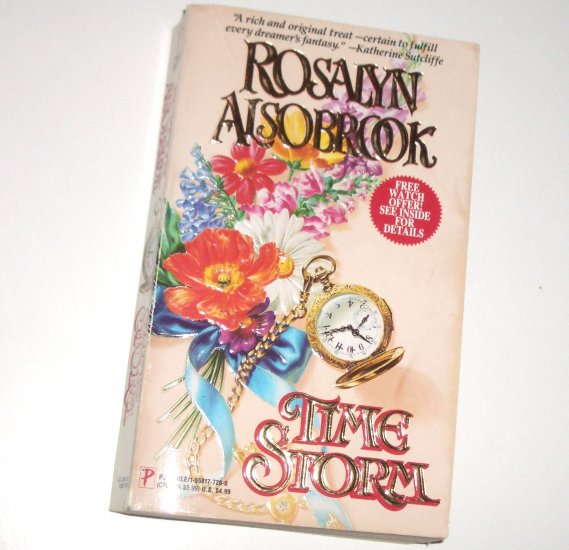 Time Storm by ROSALYN ALSOBROOK Paranormal Time Travel Romance 1993