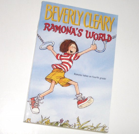 Ramona's World by BEVERLY CLEARY Trade Size Childrens Book 2001