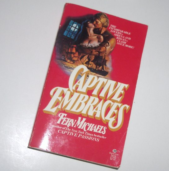 Captive Embraces by Fern Michaels Historical Pirate Romance 1979 Captives Series
