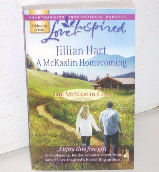 A McKaslin Homecoming by Jillian Hart Love Inspired Christian Romance 2008 McKaslin Clan Series