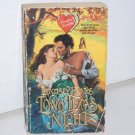 Long Texas Night by LINDSEY HANKS Zebra Heartfire Historical Western Romance 1991