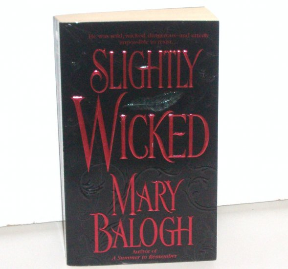 Slightly Wicked by MARY BALOGH Historical Regency Romance 2003 TOP PICK The Bedwyns Series