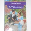 The Major's Mistake by ANDREA PICKENS Slim Signet Historical Regency Romance 1990