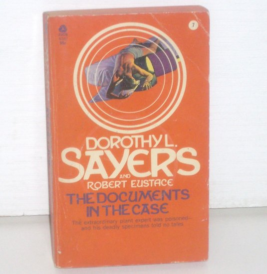 The Documents in the Case by DOROTHY L SAYERS Lord Peter Wimsey Cozy Mystery 1972
