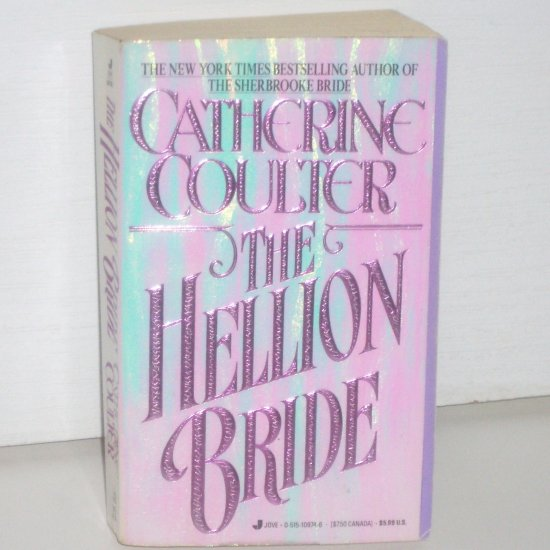 The Hellion Bride by CATHERINE COULTER Historical Regency Romance 1992 The Sherbrooke Brides Series