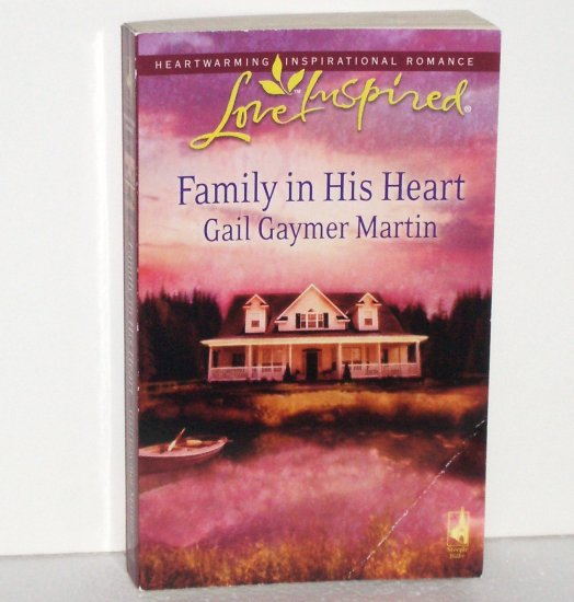 Family in His Heart by Gail Gaymer Martin Christian Romance 2008 Michigan Island Large Print