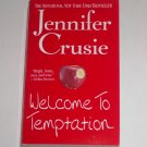 Welcome to Temptation by JENNIFER CRUSIE Funny, Sexy Romance 2001