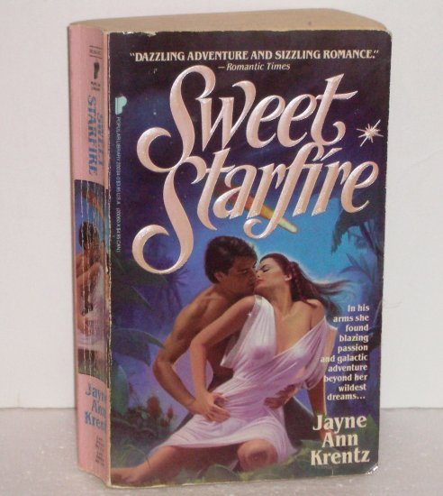 Sweet Starfire by JAYNE ANN KRENTZ Paranormal Futuristic Romance 1986 Lost Colony Series