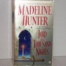 Lord of a Thousand Nights by MADELINE HUNTER Historical Medieval Romance 2002