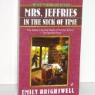 Mrs. Jeffries in the Nick of Time by EMILY BRIGHTWELL A Prime Crime Cozy Mystery 2009