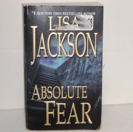 Absolute Fear by Lisa Jackson Romantic Suspense 2008 New Orleans Series