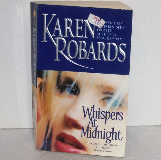 Whispers at Midnight by KAREN ROBARDS Romantic Suspense 2003