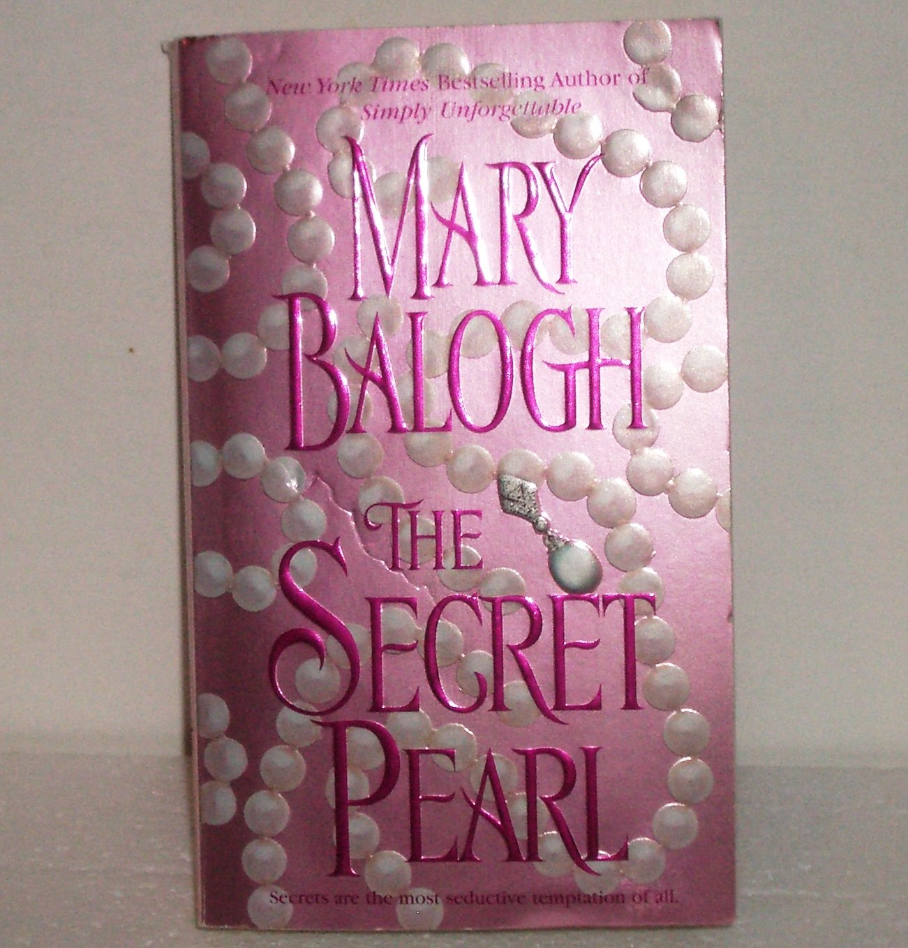 The Secret Pearl by MARY BALOGH Historical Regency Romance 2005